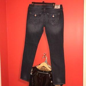Straight leg, True Religion jeans